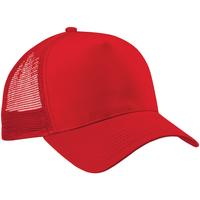 Accessoarer Keps Beechfield Trucker Klassiskt röd/klassiskt röd
