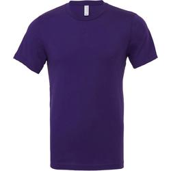 textil Herr T-shirts Bella + Canvas CA3001 Team Purple