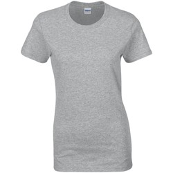 textil Dam T-shirts Gildan Missy Fit Sport Grå
