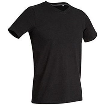 textil Herr T-shirts Stedman Stars Clive Svart opal