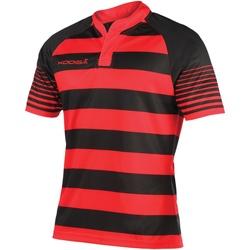 textil Herr T-shirts Kooga Touchline Svart/röd