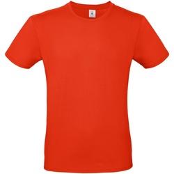 textil Herr T-shirts B And C TU01T Eldröd