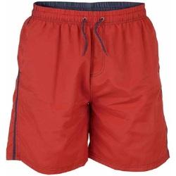 textil Herr Badbyxor och badkläder Duke  Röd