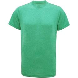 textil Herr T-shirts Tridri TR010 Grön melange