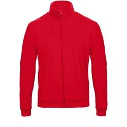 textil Sweatshirts B And C ID.206 Röd
