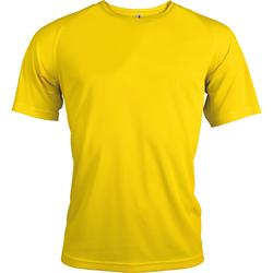 textil Herr T-shirts Kariban Proact PA438 True Yellow