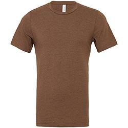 textil Herr T-shirts Bella + Canvas CA3001 Heather Brown