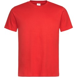 textil Herr T-shirts Stedman Stars  Skarlakansröd
