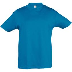 textil Barn T-shirts Sols 11970 Aqua