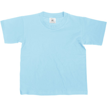 textil Barn T-shirts B And C Exact Himmelblått