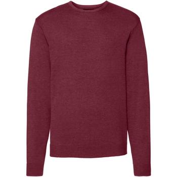 textil Herr Tröjor Russell J717M Cranberry Marl