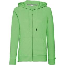 textil Dam Sweatshirts Russell J284F Grön marl