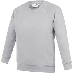textil Barn Sweatshirts Awdis  Grått