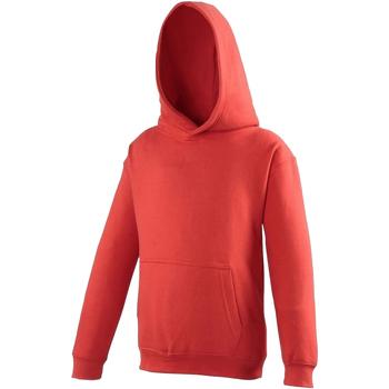 textil Barn Sweatshirts Awdis JH01J Eldröd