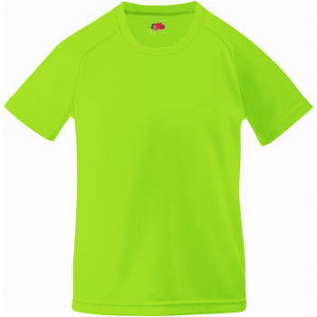 textil Barn T-shirts Fruit Of The Loom 61013 Lime