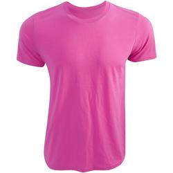 textil T-shirts Bella + Canvas CA3650 Neonrosa