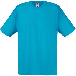 textil Herr T-shirts Universal Textiles 61082 Cyan