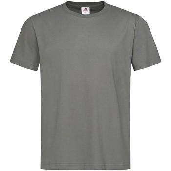 textil Herr T-shirts Stedman  Real Grey