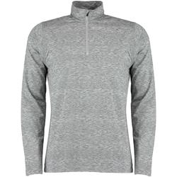 textil Herr Långärmade skjortor Rhino RH006 Grått ljung