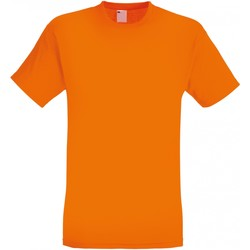 textil Herr T-shirts Universal Textiles 61082 Ljus orange