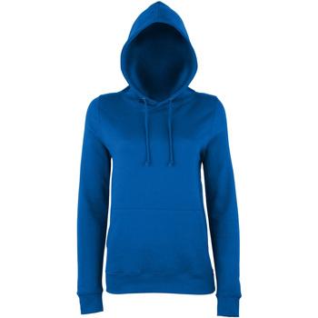 textil Dam Sweatshirts Awdis Girlie Kunglig blå
