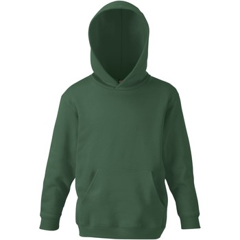 textil Barn Sweatshirts Fruit Of The Loom SS273 Flaskegrön