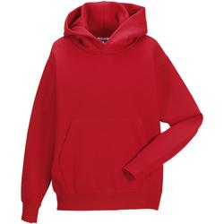 textil Barn Sweatshirts Jerzees Schoolgear 575B Klassiskt röd