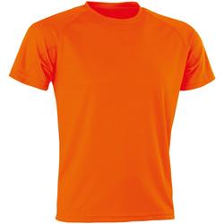 textil Herr T-shirts Spiro Aircool Flo Orange