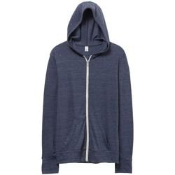 textil Herr Sweatshirts Alternative Apparel AT002 Eco True Navy