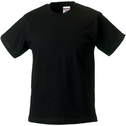 textil Barn T-shirts Jerzees Schoolgear ZT180B Svart