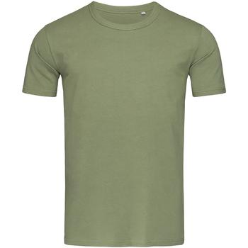 textil Herr T-shirts Stedman Stars Morgan Militärt grönt