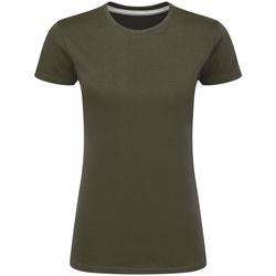 textil Dam T-shirts Sg Perfect Militärt grönt