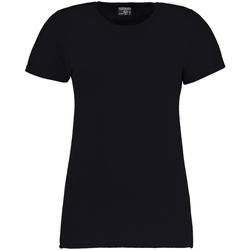 textil Dam T-shirts Kustom Kit Superwash Marinblått