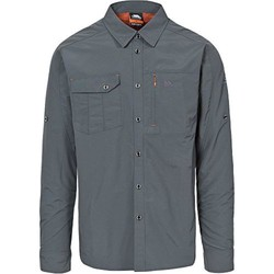 textil Herr Långärmade skjortor Trespass Darnet Kol