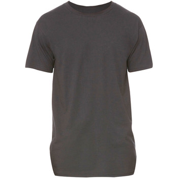 textil Herr T-shirts Bella + Canvas Long Body Mörkgrått ljummet
