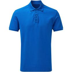 textil Herr Kortärmade pikétröjor Asquith & Fox Infinity Ljus kunglig blå