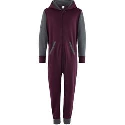 textil Barn Uniform Comfy Co CC03J Burgundy/Charcoal