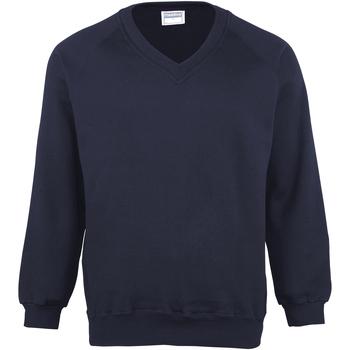 textil Barn Sweatshirts Maddins  Marinblått