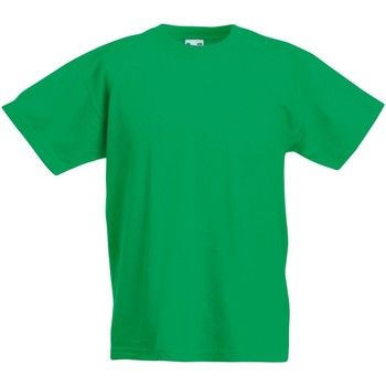 textil Barn T-shirts Fruit Of The Loom 61019 Kelly Green
