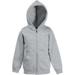 textil Barn Sweatshirts Fruit Of The Loom SS825 Grått