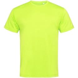 textil Herr T-shirts Stedman  Cyber Yellow