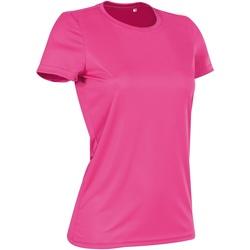 textil Dam T-shirts Stedman  Söt rosa