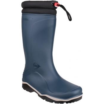 Skor Gummistövlar Dunlop Blizzard Blå/Svart