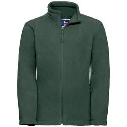 textil Pojkar Fleecetröja Jerzees Schoolgear 8700B Flaskegrön