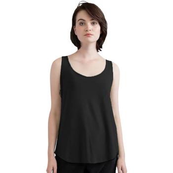textil Dam Linnen / Ärmlösa T-shirts Mantis M92 Svart