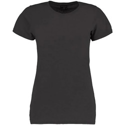 textil Dam T-shirts Kustom Kit Superwash Mörkgrå marl