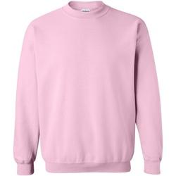 textil Sweatshirts Gildan 18000 Ljusrosa