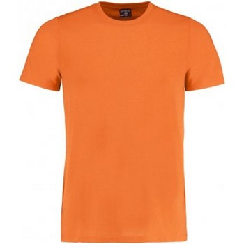 textil Herr T-shirts Kustom Kit KK504 Ljus orange marl