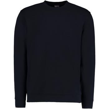 textil Herr Sweatshirts Kustom Kit KK302 Marinblått