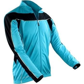 textil Herr Sweatjackets Spiro S255M Aqua/ Svart